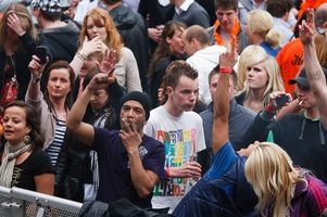 foto Absolutely Queensday, 30 april 2010, Van Heekplein, Enschede #585534