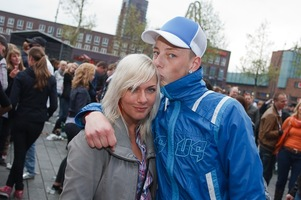 foto Absolutely Queensday, 30 april 2010, Van Heekplein, Enschede #585544