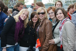 foto Absolutely Queensday, 30 april 2010, Van Heekplein, Enschede #585546