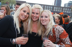 foto Absolutely Queensday, 30 april 2010, Van Heekplein, Enschede #585550