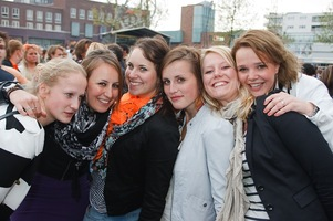 foto Absolutely Queensday, 30 april 2010, Van Heekplein, Enschede #585556