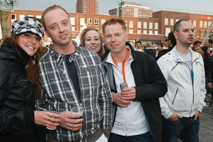 foto Absolutely Queensday, 30 april 2010, Van Heekplein, Enschede #585566