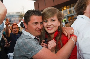 foto Absolutely Queensday, 30 april 2010, Van Heekplein, Enschede #585581