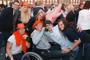 foto Absolutely Queensday, 30 april 2010, Van Heekplein, Enschede #585589