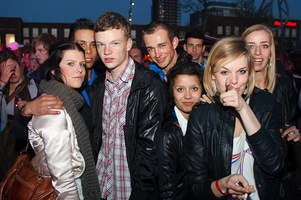 foto Absolutely Queensday, 30 april 2010, Van Heekplein, Enschede #585628