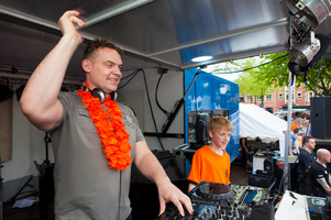 foto Koninginnedag, 30 april 2012, Kerkplein, Putten #707322
