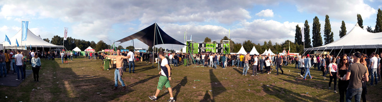 foto Dream Village, 15 september 2012, Sportpark Heihoef, Oosterhout #733488